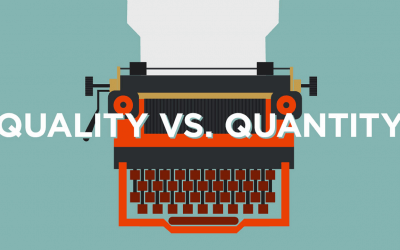 Is it the quantity or quality that matters when writing content for your website?